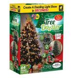 Lumière d'arbre de Noël avec le blanc chaud DEL