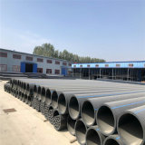 Ep Tubo de água de grande diâmetro de plástico de polietileno tubo tubo de HDPE
