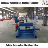 Ligne de machine d'extrudeuse de gaine de jupe pour le câble de construction