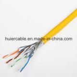 El mejor cable de la red de cable del LAN del precio CAT6A