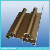 Traitement extérieur de profil d'excellence en aluminium d'extrusion pour le guichet et la porte