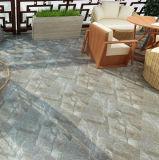 Mattonelle di pavimento lustrate porcellana di marmo grigia poco costosa della superficie ruvida dell'ardesia 60*60