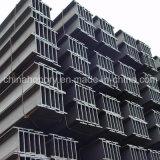 Feixe de aço do material de construção H para a construção de aço do perfil