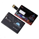 Full ColorsのVisiting安いCredit Card USB Flash Stick