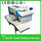 La machine se pliante de rideau, blanchisserie industrielle de matériel de blanchisserie couvre le dépliant