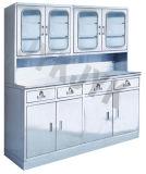 Кухонный шкаф Jyk-D12 хранения медицинского прибора нержавеющей стали