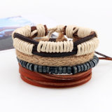 Neues Form-Zubehör-Anker-Raupe-Leder-Armband