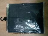 Sacchetto stampato personalizzato del PVC, sacchetto di plastica con l'amo, sacchetto del tasto del PVC, sacchetto della biancheria intima del PVC, sacchetto di indumento del PVC, sacchetto del gancio del PVC (sacchetto 001 del pacchetto del PVC dell'JP-amo)