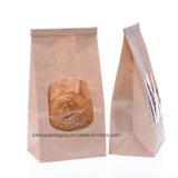 Aufrechte Fertigkeit-Papierbeutel mit Fenster-und Zinn-Gleichheit-Mund für Kartoffeln, Vagetable