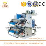Impresora no tejida flexible de la tela de la prensa de 6 colores