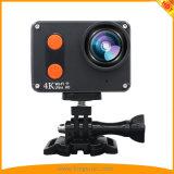 O 4K o mais novo ostenta a câmera da ação de DV com corpo impermeável da tela de toque 2.0inch