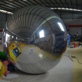 جديدة قابل للنفخ زخرفة مرآة كرة لأنّ معرض خارجيّ