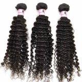 12inch 100%년 Kinky Curl Virgin 인도 Human Hair Weft