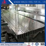 Geschweißtes rechteckiges Stahlrohr des Hersteller-AISI 304 Edelstahl