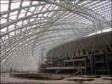 Sistema de vigas prefabricadas de estructura de acero para cubiertas de edificios