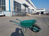 Durável Industral Barato Wheelbarrow sólida de aço Francês