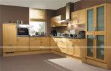 モジュラー小型ホーム台所家具/贅沢な米国式の食器棚