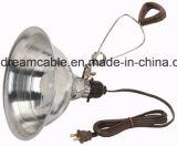 Zustimmungs-Salz-Lampen-Netzanschlusskabel 1.2m UL-CSA mit Schalter
