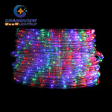 큰 2m LED Merry Christmas Sign Motif LED Warm White Rope Lights