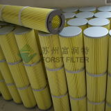 De carga superior Forst filtro de pliegues con Metal de pasivado