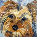 Wall Decorのための伸ばされたHandmade Dog Oil Paintings