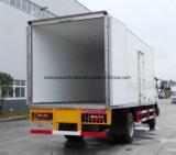 JAC Neu-Konzipieren 4X2 gekühlten Van die 5 t-Gefriermaschine-LKW