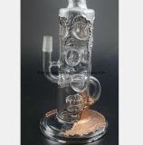 Multilayer Waterpijp van het Glas van de Terugwinning van de Filter voor het Roken