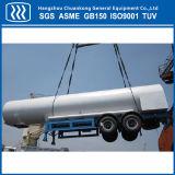 Жидкий азот CO2 кислородного танкер Полуприцепе танкера дорожного движения