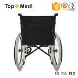 This ISO FDA Aluminum Frame Foldable Economic Lightweight Aluminum Wheelchair