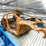 Carroçaria Shredder/máquina de reciclagem de automóveis