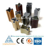 Perfil de alumínio para materiais de construção em alumínio 6060, 6061, 6063T
