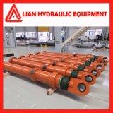 Cilindro hidráulico do atuador do petróleo hidráulico para o projeto da tutela da água
