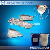 Le caoutchouc de silicone liquide de santé de nourriture pour des semelles intérieures de silicone