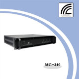 Panel único de la serie MC Clase H Canal 3 Diseño profesional amplificador de potencia de 400W