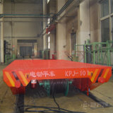 Charriot ferroviaire électrique diplômée par ce de l'Arabie Saoudite pour l'usine sidérurgique