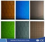 공간 또는 색을 칠하는 황금 또는 청동색 또는 파랗고 또는 녹색 또는 회색 또는 까만 또는 분홍색 건물 유리