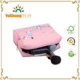Мешок PU цветастого печатание милый косметический, мешок Toiletry