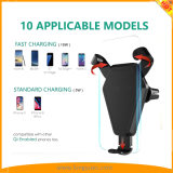 Новые продажи для установки беспроводной быстрое зарядное устройство для iPhone, Samsung и Nokia, Google для мобильных телефонов