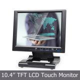 "Écran tactile LCD 10,4 ""avec entrée VGA / HDMI / DVI"