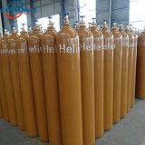 高い純度のヘリウムのガス