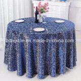 Het Tafelkleed van de Jacquard van het Damast van het Huwelijk van de Tafellinnen van de Partij van het Banket van het Restaurant van het hotel