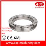 Peça fazendo à máquina do CNC da flange Ss304
