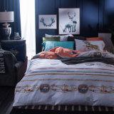 Matéria têxtil impressa clássica da HOME do fundamento do algodão do estilo europeu