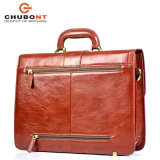 Chubont High Qualilty Mens Cow Leather Business Briefcase