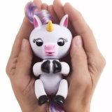 크리스마스를 위한 다채로운 전자 애완 동물 핑거 원숭이 아기 원숭이 핑거 Unicorn