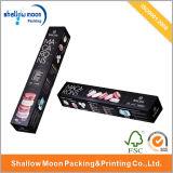 Nueva caja de embalaje negra de Marcaron del diseño (qy150016)