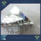 Custom голограмма вакуум безопасности гарантии защиты от несанкционированного вскрытия на наклейке