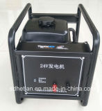 24V DC 디젤 발전기가 최신 판매 ISO에 의하여 증명서를 준다