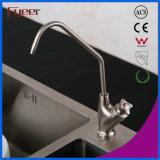 Faucet раковины кухни нержавеющей стали только 304 холода Fyeer
