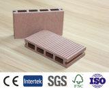 Decking bon marché et chaud des ventes WPC, plancher, frontière de sécurité